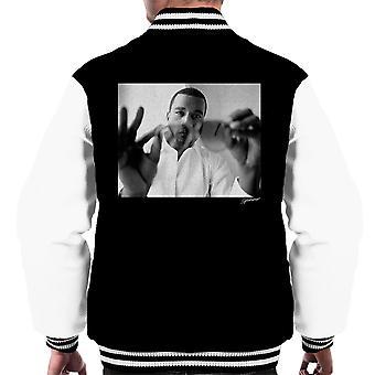 Kanye West Through Sunglasses Men's Varsity Jacket