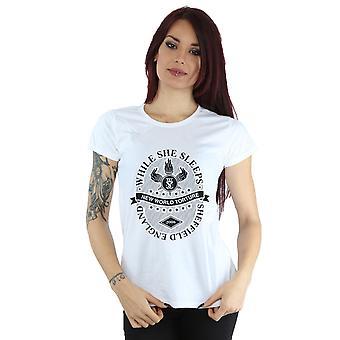 Pendant qu'elle dort nouveau monde Torture T-Shirt féminin