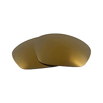 Polarized Replacement Lenses for Oakley Straight Jacket Frame Gold Anti-Scratch Anti-Glare UV400 by SeekOptics