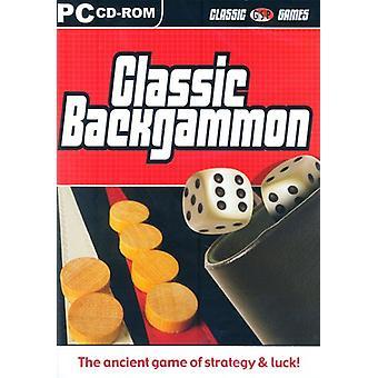 Classic backgammon (PC CD)-ny