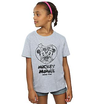 Disney Girls Mickey And Minnie Mouse Since 1928 T-Shirt