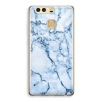Huawei P9 gennemsigtig sag (Soft) - Blue marble