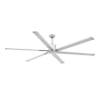 Ventilador de teto de poupança de energia Andros níquel 213cm/84