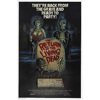 The Return of the Living Dead Movie Poster (11 x 17)
