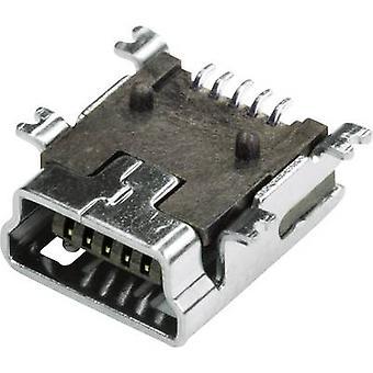 Horizontale Montage MUB1B5SMD 1 Port Econ verbinden Kontakt Sockets Socket, Inhalt: 1 PC
