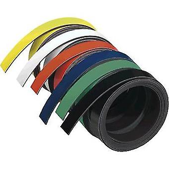 Franken M802-04 Magnetic tape (L x W) 1 m x 10 mm Yellow