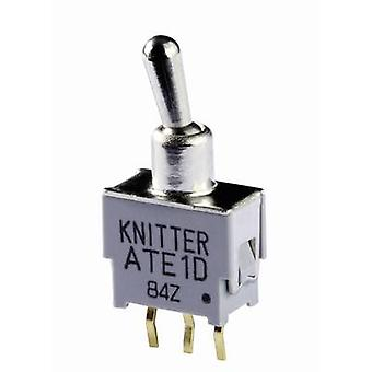 Knitter-Switch ATE 2D Toggle switch 48 V DC/AC 0.05 A 2 x On/On latch 1 pc(s)