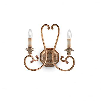 Ideal Lux Cortina Twin Wall Light