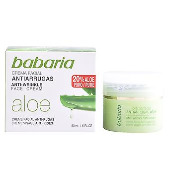 Babaria Aloe Vera Crema Antiarrugas 50 Ml til kvinder