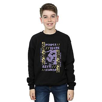 Jimi Hendrix Boys Purple Haze Sweatshirt