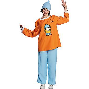 Mainzelmännchen Conni Kostüm Original für Erwachsene