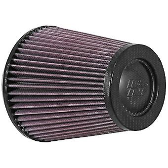 K&N RP-5101 Universal Clamp-On Air Filter: Round Tapered; 4.5 in (114 mm) Flange ID; 6 in (152 mm) Height; 5.875 in (149