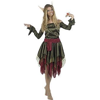 Elf Morie Elf kostuum dames bos fairy forest vrouw Lady kostuum kostuum
