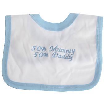 Textiles Universales BebéS Niños/Niñas Mamá Papá Bib