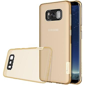 NILLKIN Samsung Galaxy S8 natuur serie 0,6 mm TPU-goud
