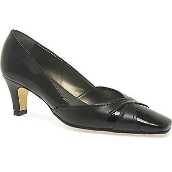 Van Dal Jolie musta kiiltonahka tuomioistuin kenkä