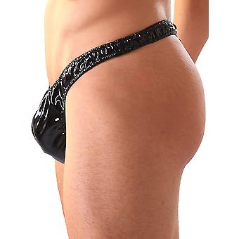 Honour Men's Thong G String Sexy Bedroom Wear in PVC Various Colours