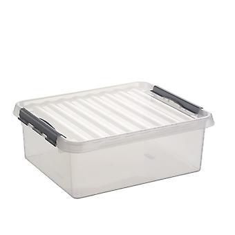 Sunware Q-line box 25 liter transparant