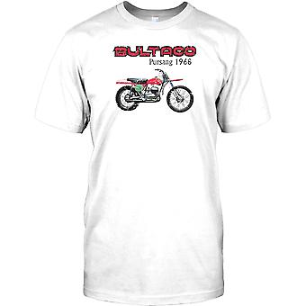 Bultaco Pursang 1968 - ensayos impresionantes bicicleta para hombre camiseta