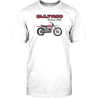 Bultaco Pursang 1968 - genial Studien Bike Herren-T-Shirt