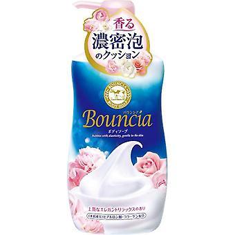 Bouncia Body Soap Pump Elegant Relax Rose Milk 550ml
