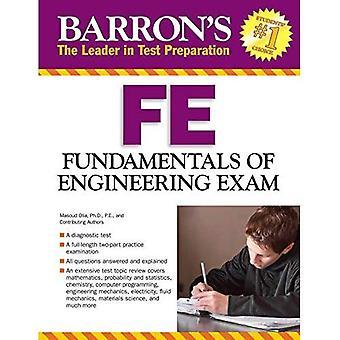 Fundamenten van Engineering examen (Barron's Fe: Fundamentals van Engineering examen)