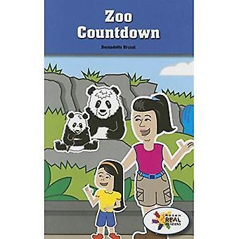Dierentuin Countdown (Rosen Real lezers: stuurpen en stoom-collectie)