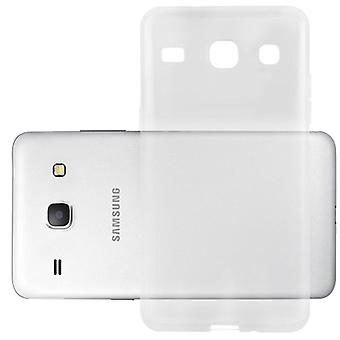 Cadorabo Hülle für Samsung Galaxy CORE Case Cover - Handyhülle aus flexiblem TPU Silikon – Silikonhülle Schutzhülle Ultra Slim Soft Back Cover Case Bumper