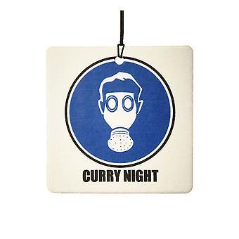 Curry-Nacht Auto-Lufterfrischer