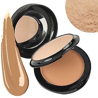 Technic Colour Fix 2 In 1 Pressed Powder & Cream Foundation ~ Oatmeal