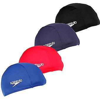 Speedo Polyester Unisex Swimming Swim Pool Cap Hat Adult