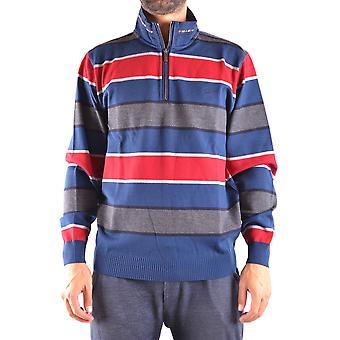 Paul & Shark Ezbc042007 Men's Blue Wool Sweater