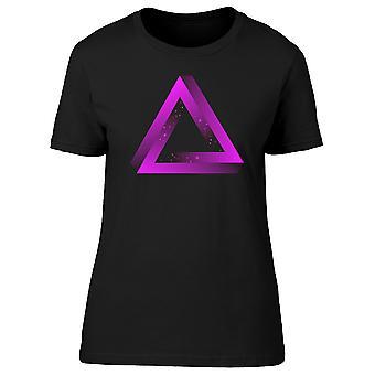 Doble triángulo figura Tee hombre-imagen de Shutterstock
