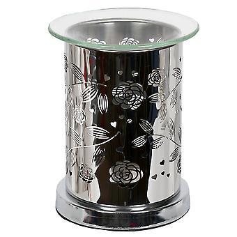 Aroma spegel vax smälta brännare, blommig