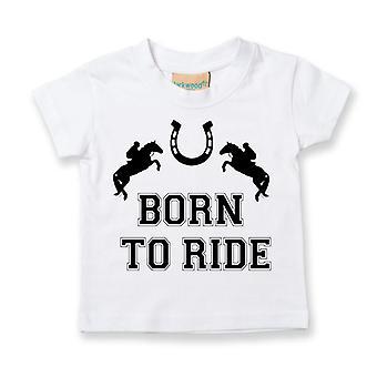 Kids Born To Ride Tshirt