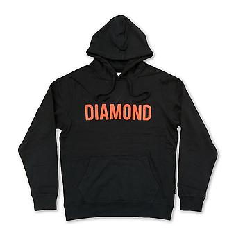 Diamond Supply Co Diamond French Terry Pullover Hoodie Black