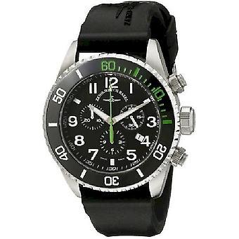 Zeno-watch Herre ur Diver keramiske Chrono grøn 6492-5030Q-a1-8