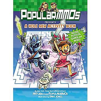 Presentes de PopularMMOs: um livro novo da atividade do furo: labirintos, enigmas, jogos, e mais!