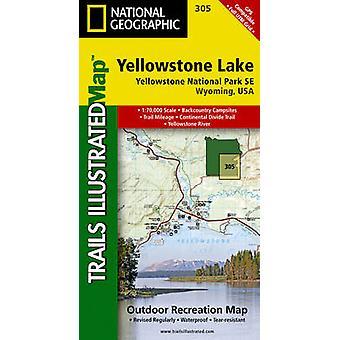 Yellowstone Lake Yellowstone National Park SE - Wyoming - USA by Natio