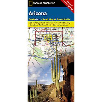 Arizona - Guide Map - Road Map & Travel Guide by National Geographic M