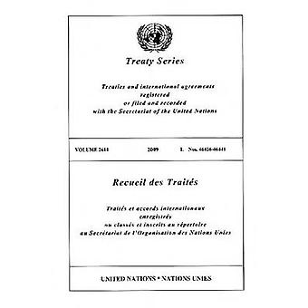 Treaty Series - Volume 2610 by United Nations - 9789219005556 Book