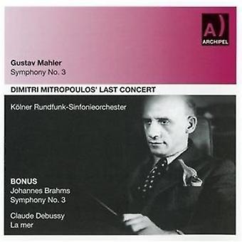 G. Mahler - Symphony No. 3 [CD] USA import