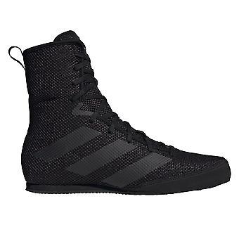 adidas Box Hog 3 Boxing Trainer Shoe Boot Black