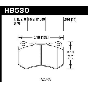 Hawk Performance HB530N.570 HP Plus