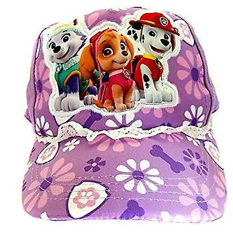 Baseball Cap - Paw Patrol - Purple Flowers Hat 156705