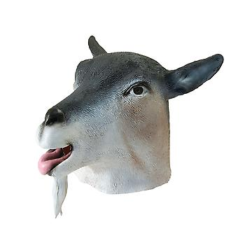 Bristol Novelty Unisex Adults Rubber Goat Mask
