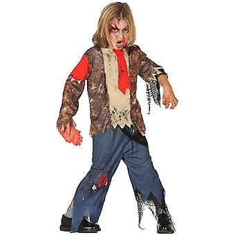 Drenge Childrens zombie Suit Halloween fancy kjole kostume