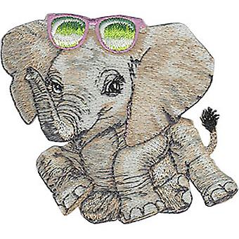 Patch - Animal Club - Elephant Iron-On New Gifts Toys p-4479