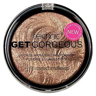 Technic Get Gorgeous Highlighting Powder ~  Bronzing