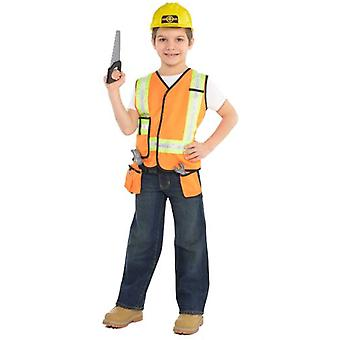 Amscan Unisex Constructor Costume & Accessories (Babies and Children , Costumes)
